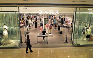 Το διάστημα Φεβρουαρίου - Απριλίου, ο ισπανικός όμιλος Inditex (Zara, Bershka κ.λπ.) άνοιξε 53 νέα καταστήματα σε 21 χώρες σε όλο τον κόσμο, τα οποία είναι όλα μεγαλύτερα σε σύγκριση με την προ κορωνοϊού εποχή. (Φωτ. Reuters)