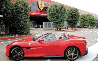 H Ferrari διαθέτει ένα από τα ισχυρότερα εμπορικά σήματα στον κόσμο και μπορεί να επεκτείνει την αναγνωρισιμότητά της και στην υψηλή ραπτική, τονίζουν αναλυτές, προσθέτοντας ότι στόχος της εταιρείας είναι να διευρυνθεί η πελατειακή βάση με κριτήριο τόσο την ηλικία όσο και την κουλτούρα (φωτ. Reuters).
