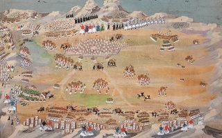 Ο πόλεμος της Τριπολιτσάς από τον Π. Ζωγράφο.