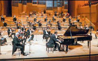 Ο Τίτος Γουβέλης ανέδειξε το νόημα της μουσικής εκτός από τον δεξιοτεχνικό πιανιστικό άθλο που πραγματοποίησε.