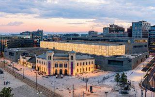 To νέο Εθνικό Μουσείο της Νορβηγίας θα ανοίξει τις πύλες του σε ένα χρόνο, στις 11 Ιουνίου 2022.