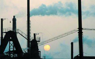 Η τιμολόγηση του άνθρακα αποτελεί έναν από τους πιο αποδοτικούς τρόπους για τη μείωση των εκπομπών διοξειδίου του άνθρακα. Φωτ. Reuters