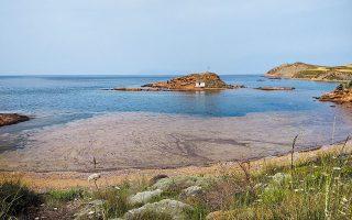 Εχουν εντοπιστεί επιφάνειες με βλέννα ανάμεσα σε Λήμνο και Αγιο Ευστράτιο και στη θαλάσσια περιοχή της Λήμνου.