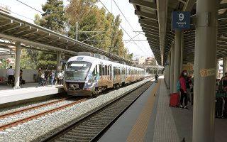 Το έργο για τον κεντρικό σιδηροδρομικό σταθμό Αθηνών αφορά την ολοκλήρωση κατασκευής γραμμών, αποβαθρών και υπόγειας διάβασης για την επικοινωνία του συνόλου των αποβαθρών (φωτ. INTIME NEWS).
