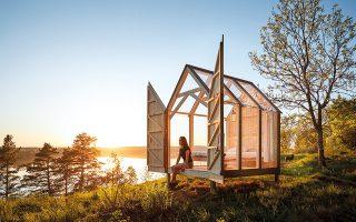 Η Καμπίνα των 72 Ωρών πήρε το όνομά της από ένα κοινωνικό πείραμα που πραγματοποιήθηκε στη Σουηδία. © ANNA-LENA LUNDQVIST/WESTSWEDEN.COM