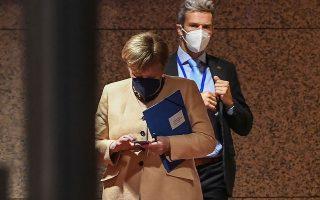 Σαφής υπήρξε η απογοήτευση της Αγκελα Μέρκελ από τους περισσότερους ηγέτες των 27 κρατών-μελών κατά την τελευταία, κατά πάσα πιθανότητα, τακτική Σύνοδο Κορυφής της Ε.Ε. στην οποία συμμετείχε (φωτ. EPA).
