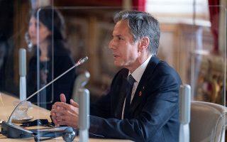 Φωτ: Andrew Harnik/Pool via REUTERS - Ο Μπλίνκεν βρέθηκε στη Ρώμη για την έναρξη συνεδρίου με στόχο την ανανέωση των διεθνών προσπαθειών για να αντιμετωπιστεί το Ισλαμικό Κράτος