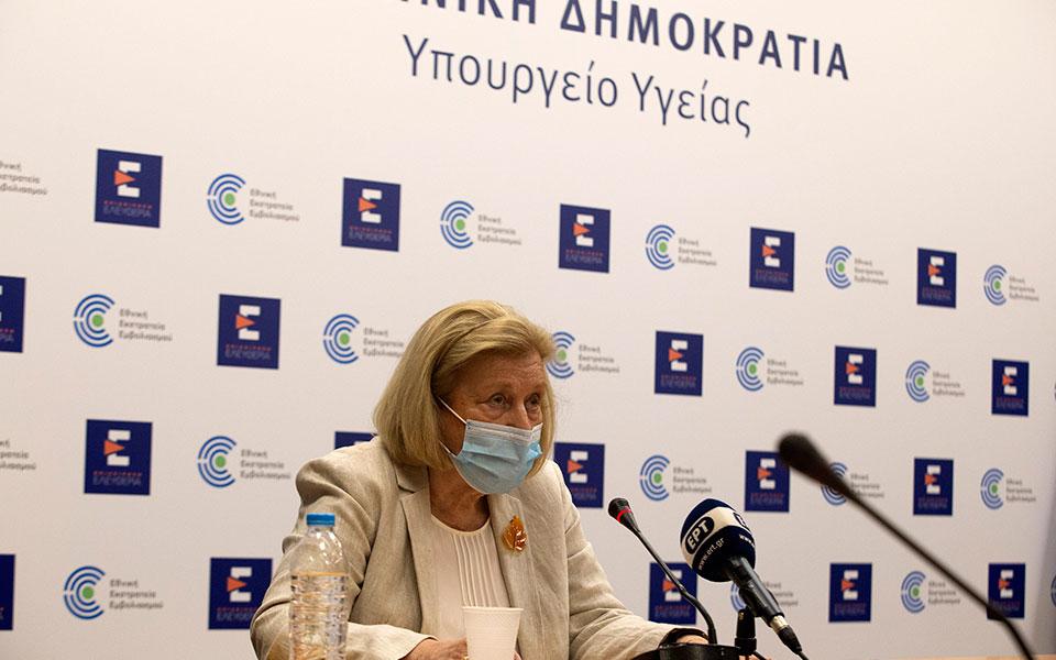 Θεοδωρίδου: Ανεμβολίαστο το 90% όσων εισάγονται με Covid σε νοσοκομεία και ΜΕΘ