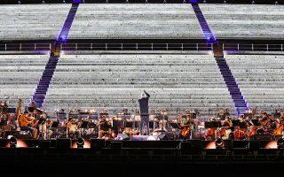 Ενα σημαντικό πολιτιστικό γεγονός με αστέρια πρώτου μεγέθους από τον χώρο της όπερας φιλοξενεί η Αθήνα αύριο το βράδυ, επιβεβαιώνοντας τη θέση της στον παγκόσμιο πολιτιστικό χάρτη (Φωτ. ΝΙΚΟΣ ΚΟΚΚΑΛΙΑΣ).