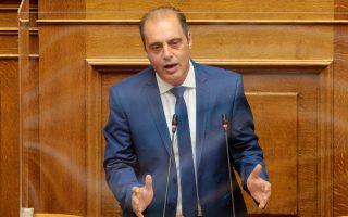 Ο πρόεδρος της Ελληνικης Λύσης Κυριάκος Βελόπουλος μιλά στην ολομέλεια της Βουλής, Πέμπτη 1 Ιουλίου 2021. (Φωτ. ΑΠΕ-ΜΠΕ/Παντελής Σαίτας)