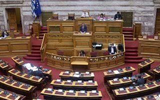 Δριμεία κριτική στην κυβέρνηση άσκησαν τα κόμματα της αντιπολίτευσης για τη διαχείριση της πανδημίας (φωτ. INTIME NEWS).