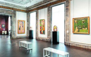 Εργα τέχνης από τις αυστριακές συλλογές των αρχών του εικοστού αιώνα στη Neue Galerie της Νέας Υόρκης. NEUE GALERIE NEW YORK