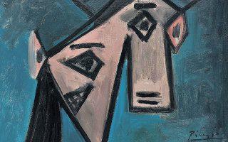 Ο πίνακας του Πικάσο «Γυναικείο κεφάλι».