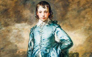 Το «Γαλάζιο αγόρι» του Τόμας Γκένσμπρο (π. 1770) ήταν φόρος τιμής στον Αντονι βαν Ντάικ. (Φωτ. HUNTINGTON)