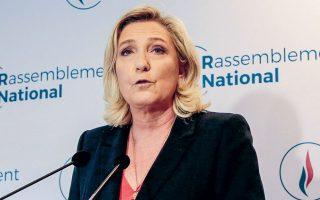 «Ο Εθνικός Συναγερμός υπέστη μια υγιή αλλαγή. Δεν θα πάμε πίσω στην παλιά σχολή του Εθνικού Μετώπου», δήλωσε η Μαρίν Λεπέν (φωτ. REUTERS).