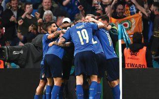 Η Ιταλία ήταν η νικήτρια στις λεπτομέρειες κόντρα στην εξαιρετική Ισπανία, σε ένα ματς πλούσιο σε θέαμα (φωτ. REUTERS / ANDY RAIN).