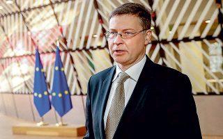 Ο επίτροπος Εμπορίου Βάλντις Ντομπρόβσκις τόνισε ότι η Ε.Ε. θεωρεί πως ο ψηφιακός φόρος που προωθεί θα λειτουργήσει συμπληρωματικά με τον ελάχιστο εταιρικό φόρο.