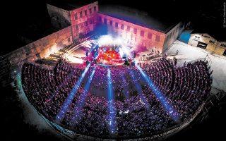Το Παλαιό Ελαιουργείο Ελευσίνας θα αποτελέσει την κεντρική σκηνή, η οποία θα φιλοξενήσει και φέτος τις εκδηλώσεις των Αισχυλείων (φωτ. ΚΟΥΣΚΟΥΤΗΣ ΓΙΑΝΝΗΣ).