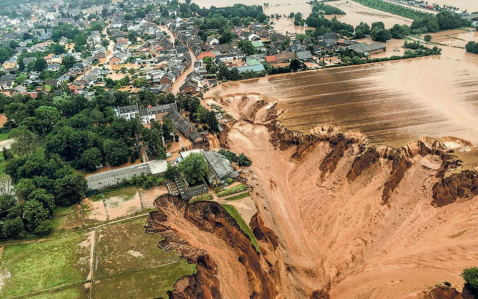 Πλημμύρες στη Γερμανία: Η κλιματική αλλαγή έφερε την τραγωδία