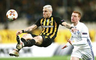 Η ΑΕΚ ανακοίνωσε χθες την επιστροφή του Ογκνιεν Βράνιες για τα επόμενα τρία χρόνια (φωτ. INTIME NEWS).