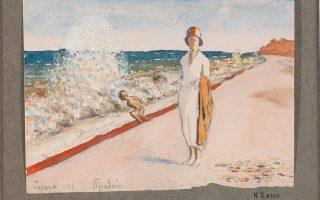 Ιβάν Κλιούν, «Παραλία στο Γκουρζούφ», 1923.