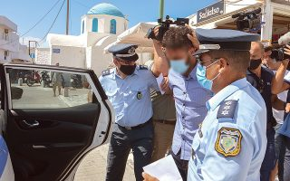 Πηγές από την αστυνομία διέψευσαν ότι ο Δημήτρης Β. αποπειράθηκε να θέσει τέλος στη ζωή του (φωτ. INTIME NEWS).