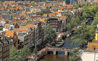 Οι πιο ριψοκίνδυνες αγορές ακινήτων είναι εκείνες της Ολλανδίας (φωτογραφία), του Καναδά, της Σουηδίας, της Γερμανίας και της Γαλλίας (φωτ. SHUTTERSTOCK).