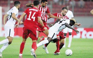 Ο Ολυμπιακός καλείται αύριο στο Αζερμπαϊτζάν, κόντρα στη Νέφτσι Μπακού, να υπερασπιστεί τη νίκη με 1-0 στο πρώτο ματς. (Φωτ. )INTIME NEWS