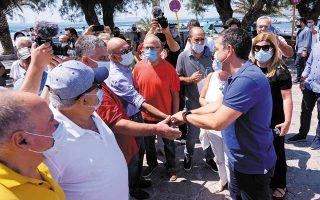 Τη Λέσβο επισκέφθηκε χθες ο αρχηγός της αξιωματικής αντιπολίτευσης, ενώ συμμετείχε και σε σύσκεψη με φορείς, τον περιφερειάρχη και δημάρχους του νησιού.