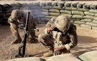 Mε απόφαση της κυβέρνησης Μπάιντεν, έως τις 31 Δεκεμβρίου θα αποχωρήσει από το Ιράκ το σύνολο των αμερικανικών μάχιμων δυνάμεων. (Φωτ. A.P. Photo / Susannah George)