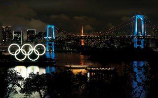 H «Γέφυρα του Ουράνιου Τόξου» φωταγωγήθηκε σε μια προσπάθεια να ανυψωθεί το ηθικό των κατοίκων του Τόκιο. © Tomohiro Ohsumi/ Getty Images/ Ideal Image