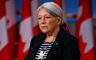 H νέα γενική κυβερνήτης του Καναδά, Μαίρη Σάιμον, μια ιθαγενής Ινουίτ (φωτ.: Reuters).