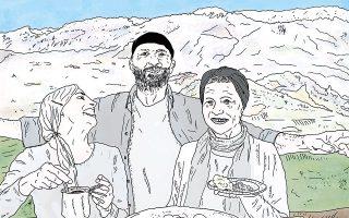 Εικονογράφηση: Δημήτρης Τσουμπλέκας