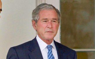 Ο Τζορτζ Μπους είχε δώσει την εντολή για την εισβολή των ΗΠΑ στο Αφγανιστάν το 2001 (φωτ. AP Photo/Pablo Martinez Monsivais).