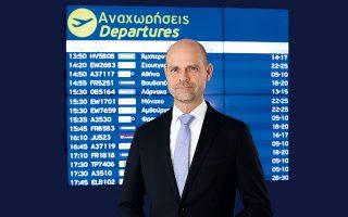 Ο κ. Alexander Zinell είναι διευθύνων σύμβουλος της Fraport Greece.