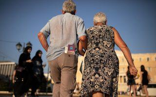 Τα αναδρομικά για παλαιούς και νέους συνταξιούχους, δηλαδή για όσους έλαβαν τη σύνταξή τους πριν ή μετά τον νόμο Κατρούγκαλου, που ψηφίστηκε τον Μάιο του 2016, αφορούν περίπου 200.000 δικαιούχους. Φωτ. SOOC