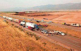 Utah Highway Patrol via AP
