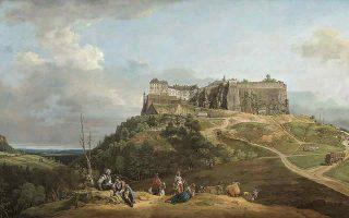 Ο ρομαντισμός του 18ου αιώνα. Εργο υποβλητικής φύσης και αρχιτεκτονικής από τον Μπερνάρντο Μπελότο (1722-1780). (Φωτ. NATIONAL GALLERY OF ART, WASHINGTON)