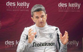 «Είναι ένας τελικός διπλός με την Μποέμιαν για εμάς», τόνισε ο προπονητής του ΠΑΟΚ, Ραζβάν Λουτσέσκου (φωτ. INTIME NEWS).