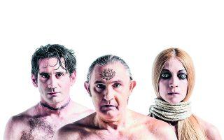 Ο Ακης Σακελλαρίου (Διόνυσος), ο Οδυσσέας Παπασπηλιόπουλος (Πενθέας) και η Ιωάννα Παππά (Τειρεσίας) πρωταγωνιστούν στις «Βάκχες» του Ευριπίδη που θα παρουσιαστούν στις 13, 14 και 15 Αυγούστου στο αργολικό θέατρο.