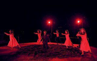 Η «Αντιγόνη» παρουσιάζεται στο Φεστιβάλ Φιλίππων, σε σκηνοθεσία Σάββα Στρούμπου (φωτ. ΑΝΑΣΤΑΣΑΚΗΣ).