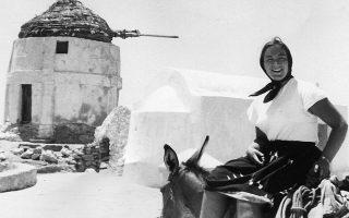 Η Μάργκαρετ Κένα στην Ανάφη το 1966.