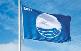 Η ποιότητα των νερών κολύμβησης στις συγκεκριμένες παραλίες παραμένει εξαιρετική, ωστόσο δεν αρκεί για να κυματίζει στις ακτές τους η «γαλάζια σημαία» (φωτ. SHUTTERSTOCK).