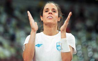 H «χρυσή» ολυμπιονίκης του Ρίο Κατερίνα Στεφανίδη θα προσπαθήσει να υπερασπιστεί το στέμμα της (φωτ. REUTERS).
