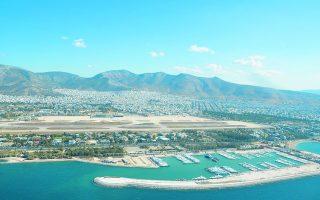Το παραλιακό μέτωπο του Ελληνικού καταλαμβάνει έκταση 3,5 χιλιομέτρων, εκ των οποίων ένα χιλιόμετρο θα είναι η παραλία που θα διαμορφωθεί.