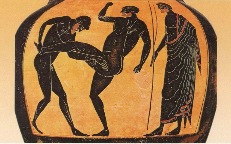o-persis-stratigos-tritantaichmis-oi-agones-stin-olympia-peri-aretis-kai-to-deon-561465781