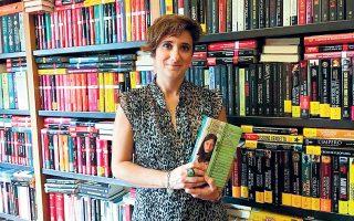 Η συγγραφέας Ρόζα Βεντρέλλα.