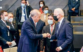 Ο Ερντογάν και ο Μπάιντεν συζήτησαν για τις διμερείς σχέσεις στη συνάντησή τους στις 14 Ιουνίου, στη σύνοδο κορυφής του ΝΑΤΟ στις Βρυξέλλες.