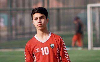 Η απώλεια της ελπίδας. Ο 17χρονος ποδοσφαιριστής Ζάκι Ανουάρι της εθνικής ομάδας νέων του Αφγανιστάν.