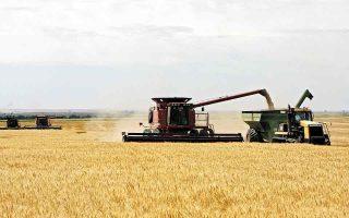 Oι τιμές των εμπορευμάτων έχουν αυξηθεί από την αρχή της πανδημίας περίπου 60%. Τα βιομηχανικά μέταλλα έχουν αυξηθεί κατά 77%, ενώ τα αγροτικά προϊόντα και τα σιτηρά κατά 67%. (Φωτ. A.P.)